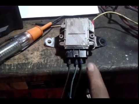 95 Toyota Tacoma >> prueba de modulo de encendido toyota tacoma 95 - YouTube