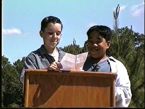 1998 Pond Road Middle School Robbinsville, NJ Outdoor Learning Environment Dedication
