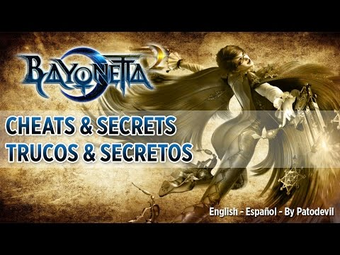 BAYONETTA 2 - CHEATS and SECRETS - [English - Español]
