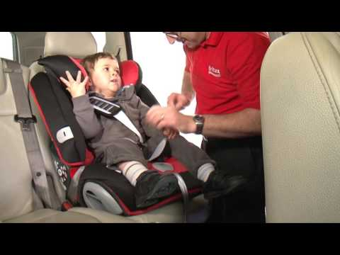 Britax Evolva 1-2-3 Plus Installation