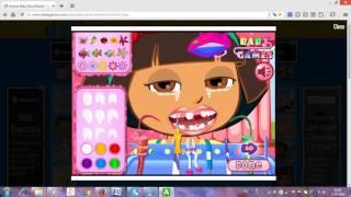 Даша у стоматолога. Игра лечить зубы Дашы! ИРГЫ для малышей онлайн! Мультик про ДАШУ!
