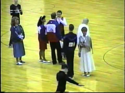National Men's Figures Roller Skating 08-08-1996 Lincoln Nebraska
