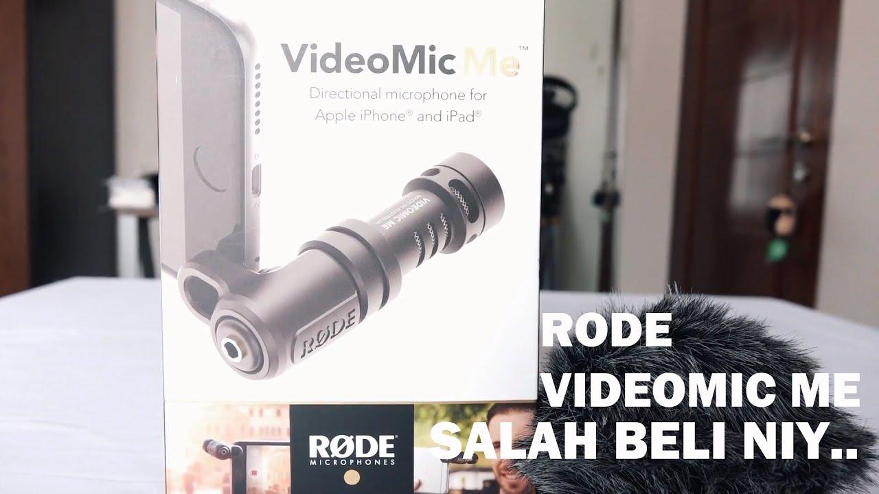unboxing dan testing rode videomic me bahasa indonesia