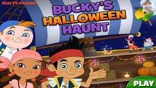 Disney's Jake and The Never Land Pirates | Buckys Halloween Haunt | Kids TV Channel