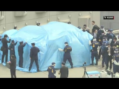Drone found on roof of Japanese Prime Minister