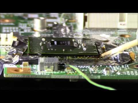 HP Pavilion DV6000 Professional Nvidia GPU Graphic Replacement BGA Fix
