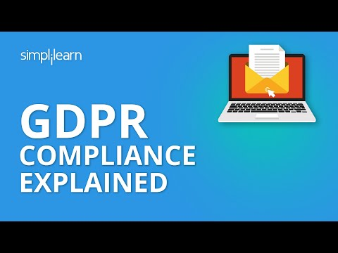 GDPR Compliance Explained | What Is GDPR Compliance? | GDPR Explained | Email Marketing |Simplilearn