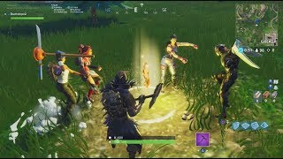 week 6 Fortnite: Search between a playground, a campground and a footprint of not!