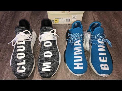 online store db880 fb544 Смотрите сегодня видео новости Adidas Human Race NMD Comparison: Original  vs Trail (Human Being vs Moon Clouds) Pharrell Williams на онлайн канале  Russia-Video-News.Ru