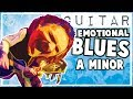 Emotional Blues Groove Backing Track in A Minor
