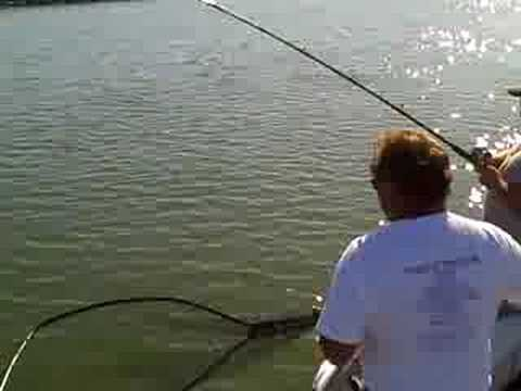 Striper fishing in the delta san joaquin river 9 7 08 for San joaquin river fishing