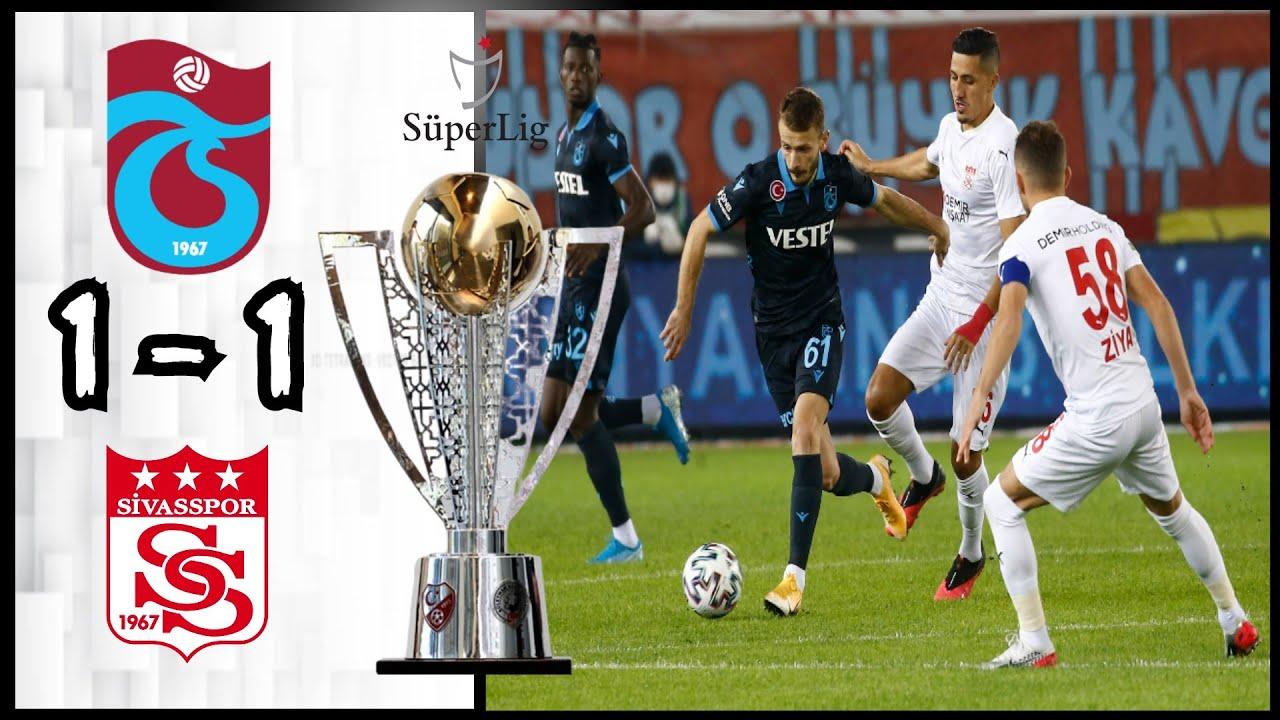 Trabzonspor 1 - 1 Sivasspor | Maç Özeti