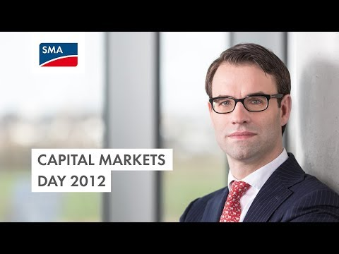 SMA Capital Markets Day 2012
