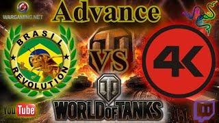 (_BR_) Vs (_4K_) Advance Battles