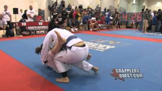 Jessica Rodriguez vs Delaney Owen at Grapplers Quest Fl. State Championships 2012