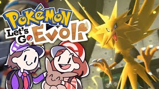 Zapdos, Lavados & Siegesstraße! | 24 | Pokémon Lets Go: Evoli