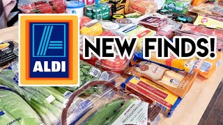NEW FINDS AT ALDI! 🛒 ALDI + WALMART GROCERY HAUL AND MEAL PLAN 🍽 JEN CHAPIN