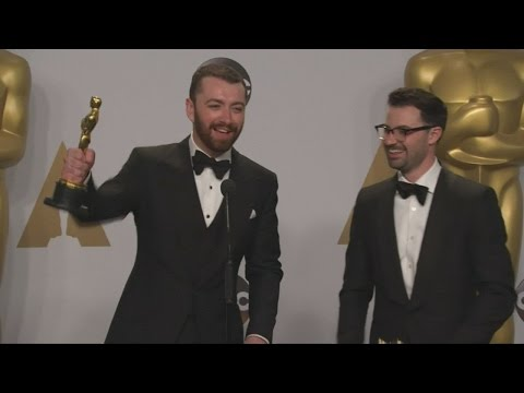 OSCARS 2016: Sam Smith finds out he's NOT the first openly gay winner