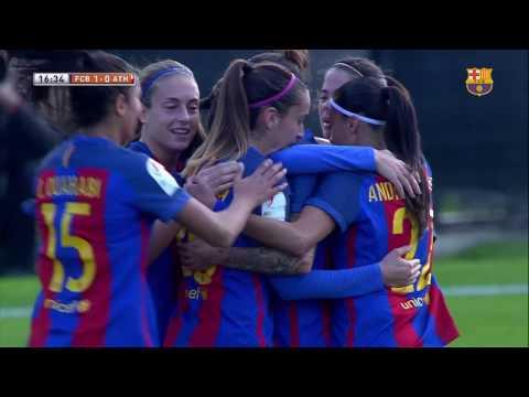 [HIGHLIGHTS] FUTBOL FEM (Lliga): FC Barcelona – Athletic Club (2-1)