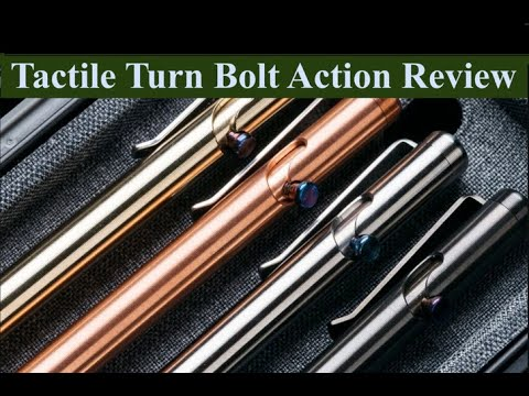 Tactical Turn Bolt Action Pen Review