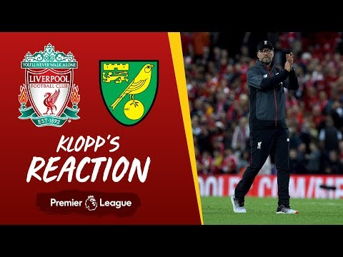 Liverpool vs Norwich   Klopp's reaction to Alisson's injury, Canaries win and more