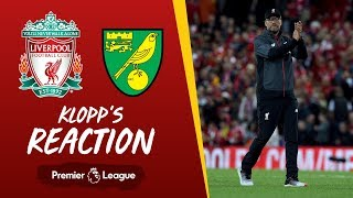 Liverpool vs Norwich | Klopp's reaction to Alisson's injury, Canaries win and more