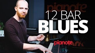 12 Bar Blues Piano Lesson