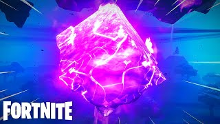 Fortnite Cube Cracks open (Read Description)
