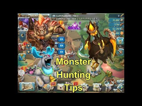 Lords Mobile! Monster Hunting Made Easy.
