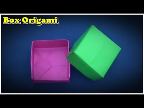 Papercraft Origami Easy | How To Make Box Origami Easy
