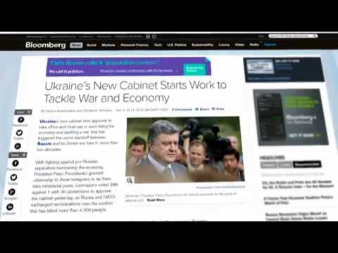 Ukraine Today Press Review: Three foreigners elected to new Ukrainian government
