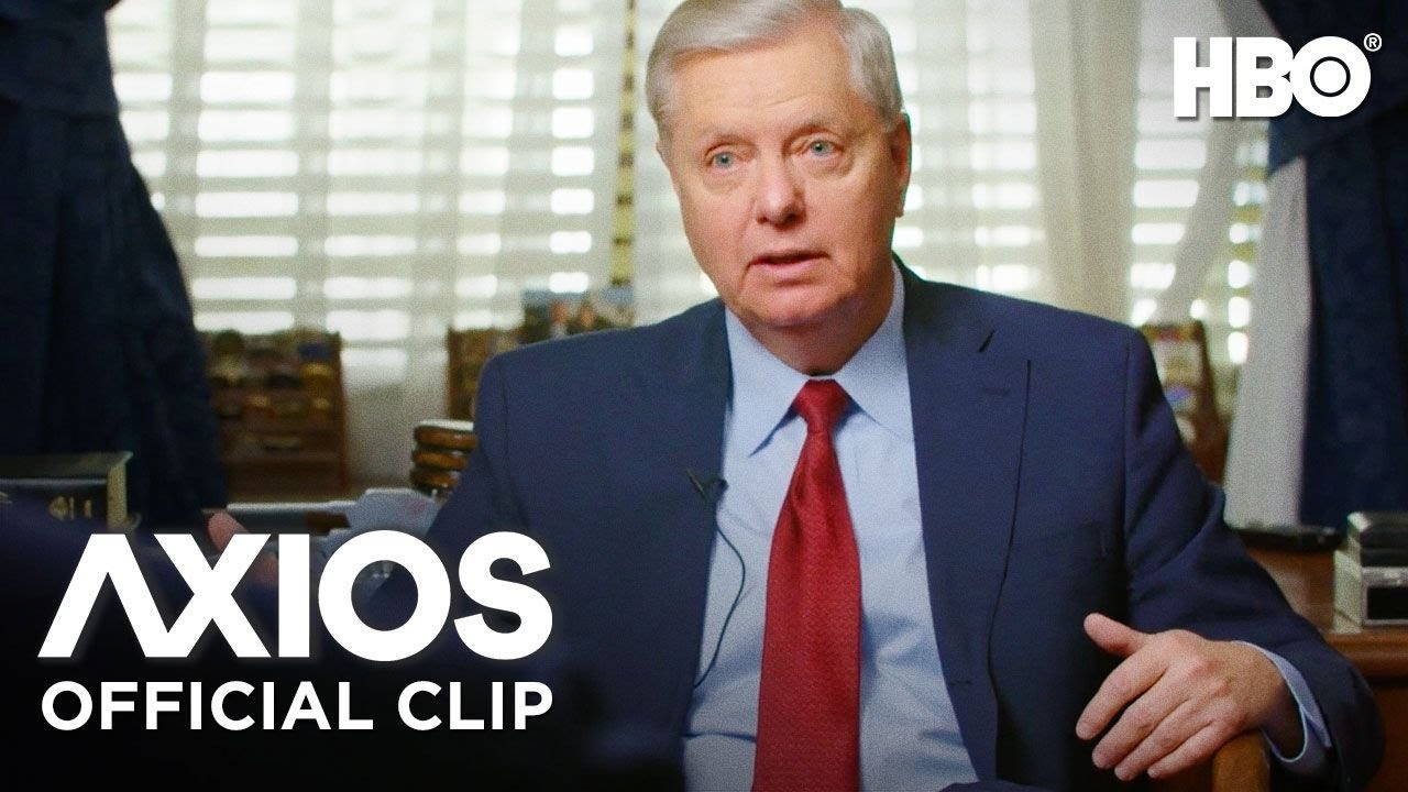 Axios On HBO: Senator Lindsey Graham on Trump's Role in the Republican  Party (Clip) | HBO - YouTube