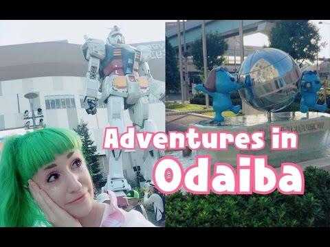 Fuji TV | Giant Gundam | Adventures in Odaiba, Tokyo !