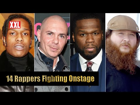 14 Rappers Fighting Onstage