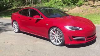 Tesla model s Saleen