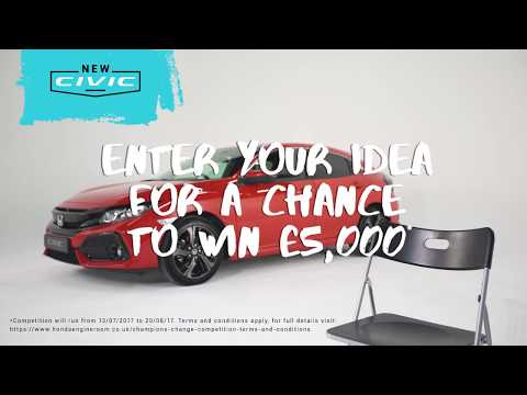 Honda Champions For Change Competition - An intro to Innovation