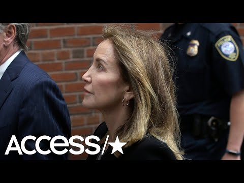 Felicity Huffman Hangs Head & Clasps Hands During Guilty Plea In College Scandal: What's Next?