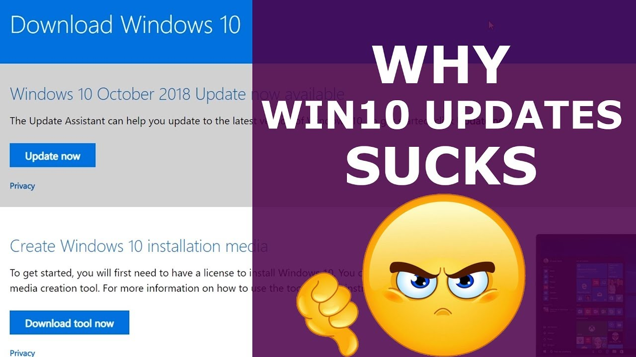 What Happen To Windows 10 1809 Update? Why Windows 10 Major Updates Sucks!
