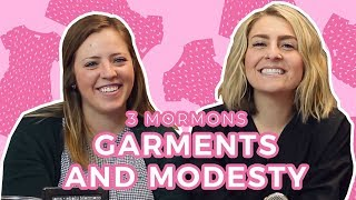 Mormon GARMENTS and MODESTY   3 Mormons