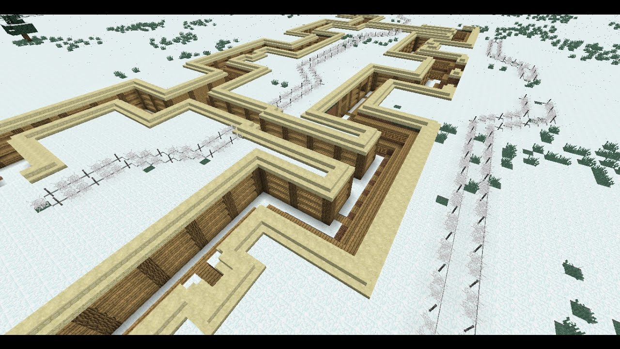 Minecraft WW1 Trench Map build [Part 2] It\'s Expanding!