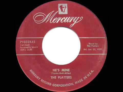 1957 HITS ARCHIVE  He's Mine   Platters