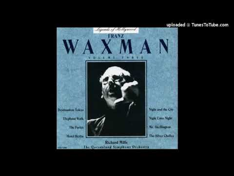 Franz Waxman : Hotel Berlin, Cafe Waltzes from the film music (1945)