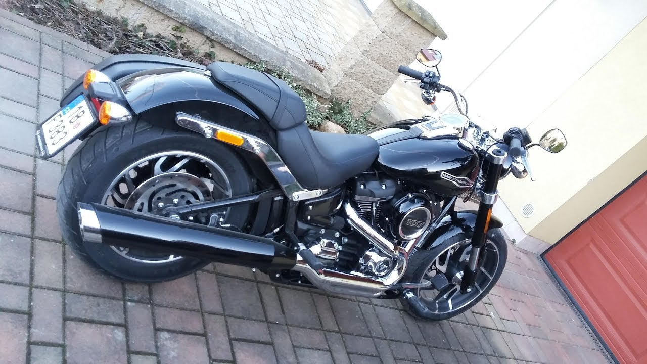 Harley Davidson Sport Glide 2018 with Tab Performance ...