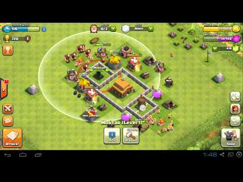 Clash of clans maxed out th3 trophy base design mushroom kingdom