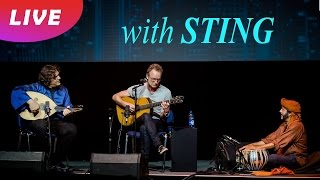 Sting - Desert Rose (unplugged @ YPO EDGE) feat. Kamal Musallam & Rashmi Bhatt