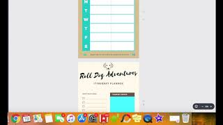 Roll Dog Pet Planner - For Adventure dogs!