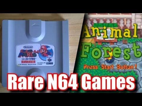 Top 5 Rarest Nintendo 64 & N64 DD Games