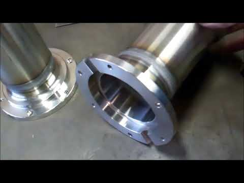 Tig welding stainless steel pipe for milking parlour.