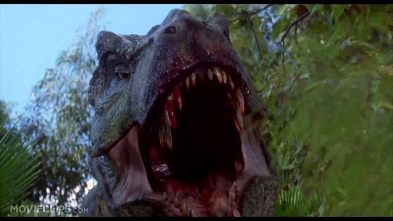 Jurassic Park 3 3 10) Movie CLIP Spinosaurus vs T Rex ...