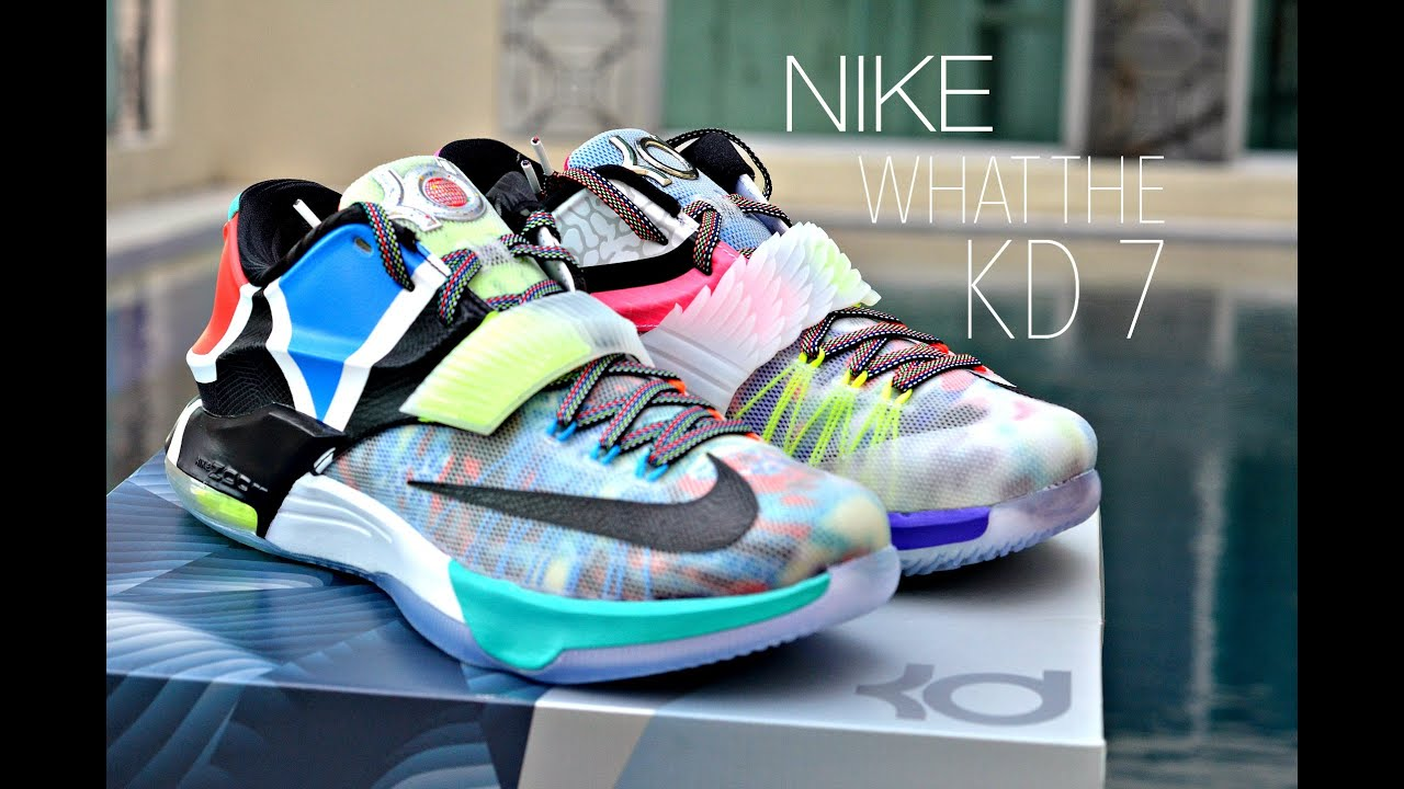 Nike What The KD 7 Review + On Feet - YouTube